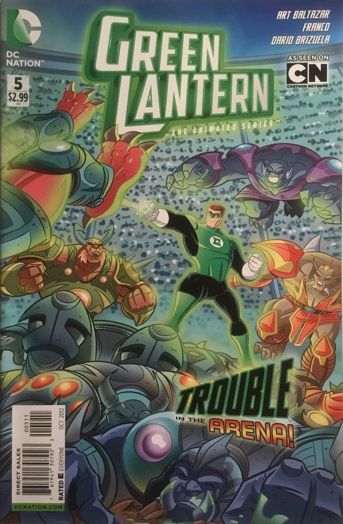 GREEN LANTERN THE ANIMATED SERIES # 5