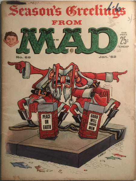 MAD MAGAZINE (USA) # 68
