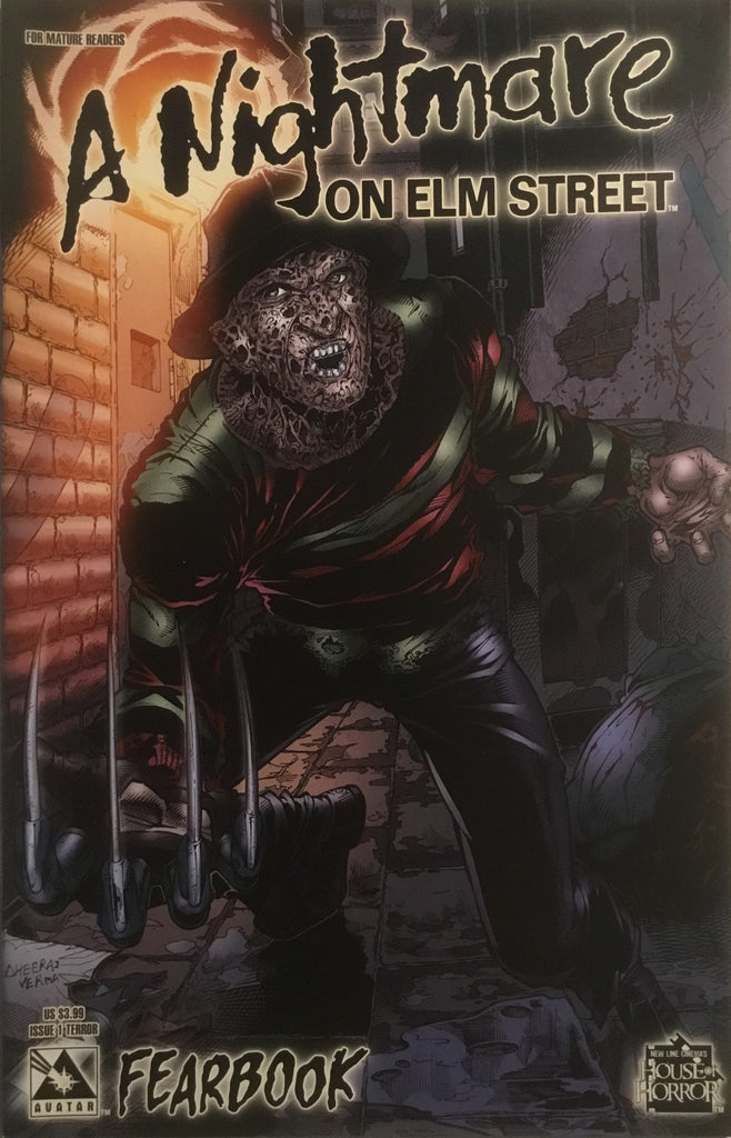 A NIGHTMARE ON ELM STREET FEARBOOK # 1 TERROR COVER - Comics 'R' Us