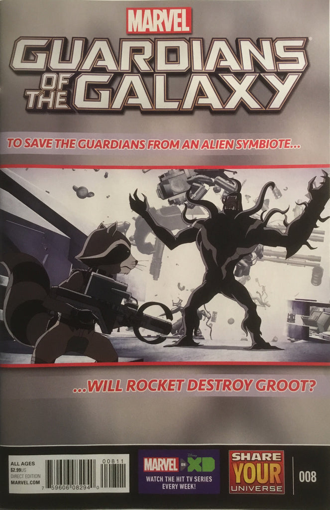 GUARDIANS OF THE GALAXY (MARVEL UNIVERSE) # 8