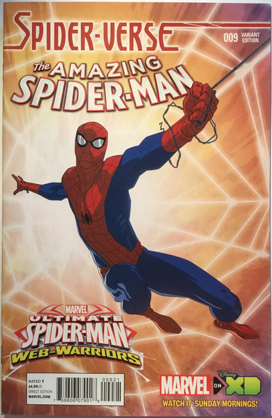 AMAZING SPIDER-MAN # 9 (2015) 1:25 VARIANT - Comics 'R' Us