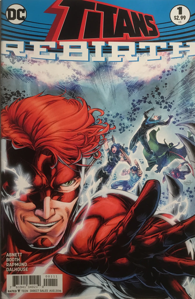 TITANS REBIRTH # 1 FIRST PRINTING