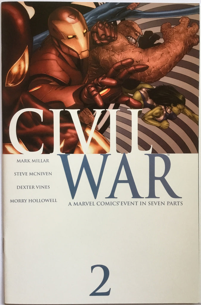 CIVIL WAR (2006) # 2 - Comics 'R' Us