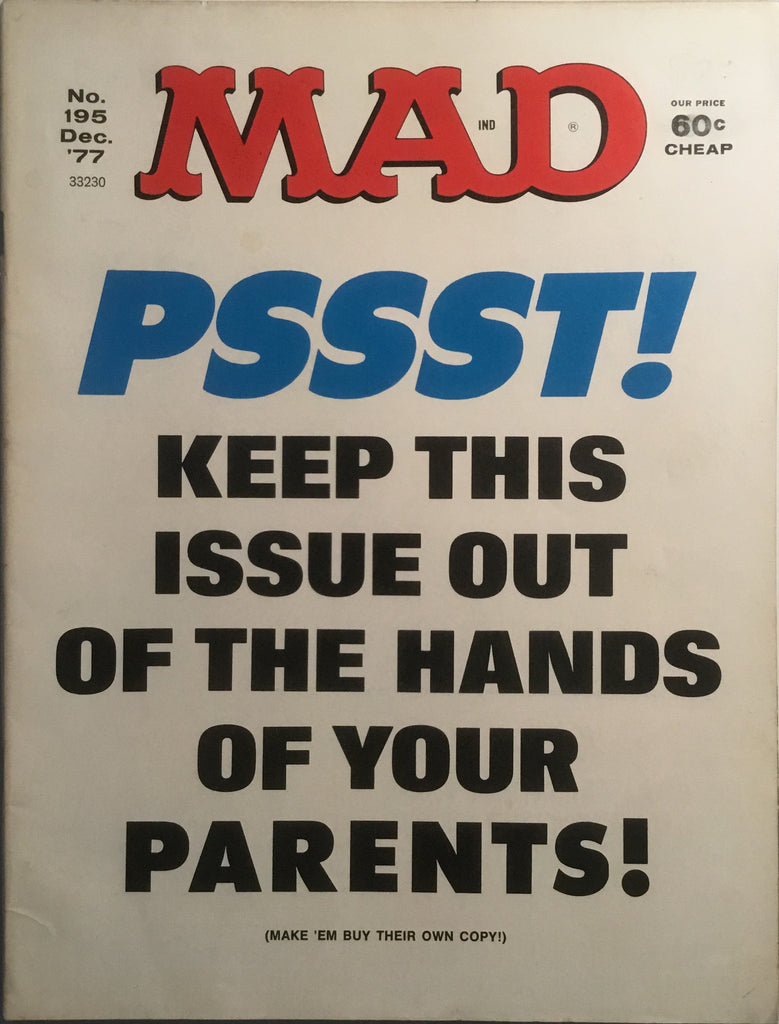 MAD MAGAZINE (USA) #195