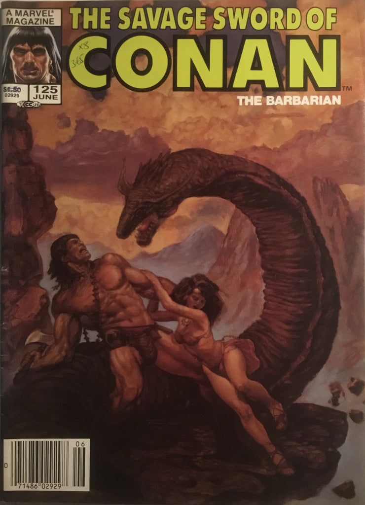 THE SAVAGE SWORD OF CONAN #125