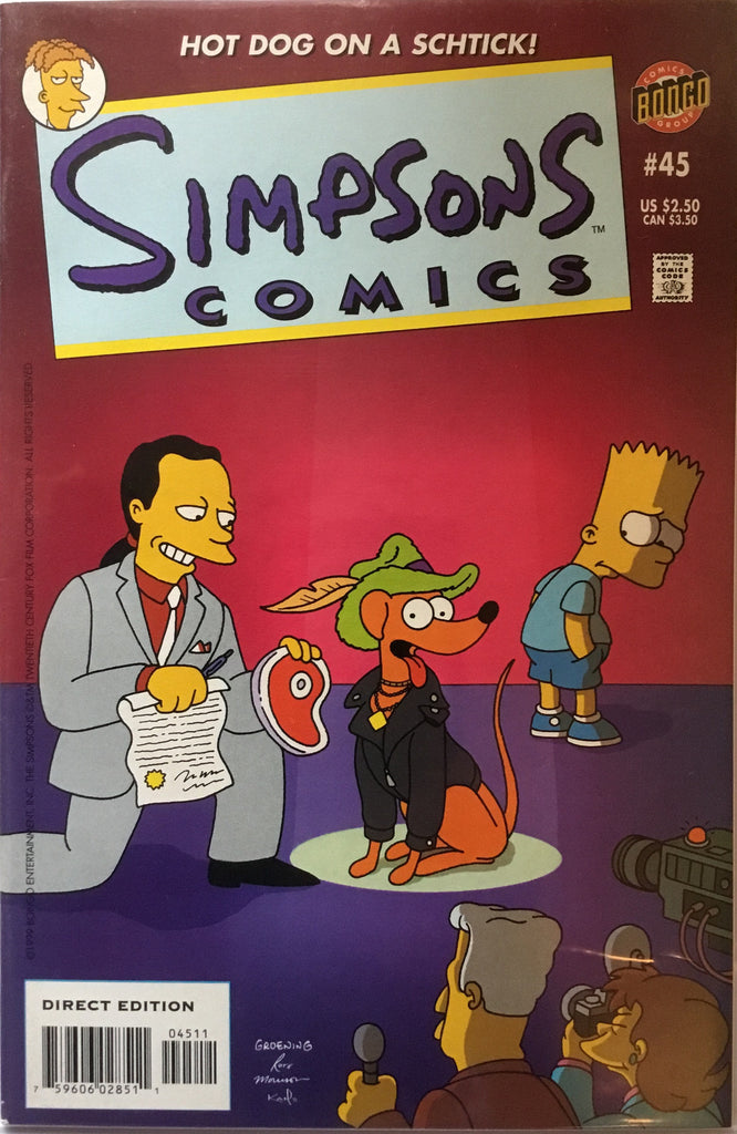 SIMPSONS COMICS # 45