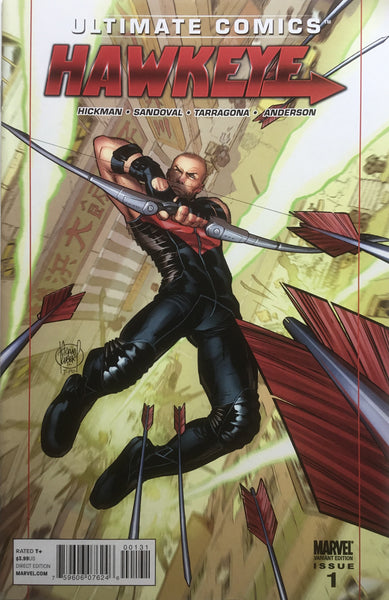 ULTIMATE COMICS HAWKEYE # 1 KUBERT 1:15 VARIANT COVER