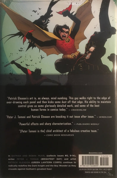 BATMAN AND ROBIN (NEW 52) VOL 2 PEARL HARDCOVER GRAPHIC NOVEL