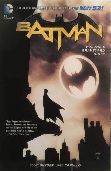BATMAN (NEW 52) VOL 6 GRAVEYARD SHIFT GRAPHIC NOVEL - Comics 'R' Us