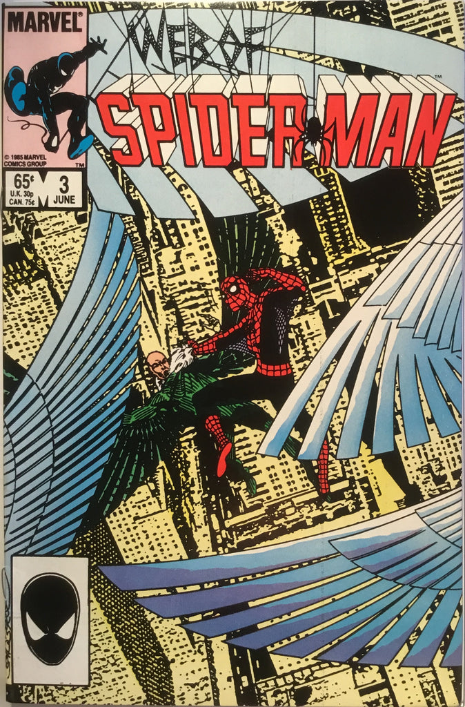 WEB OF SPIDER-MAN # 03