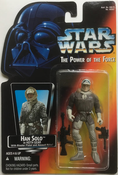 STAR WARS HAN SOLO IN HOTH GEAR ACTION FIGURE 1995