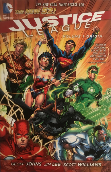 JUSTICE LEAGUE (NEW 52) VOL 1 GRAPHIC NOVEL - Comics 'R' Us