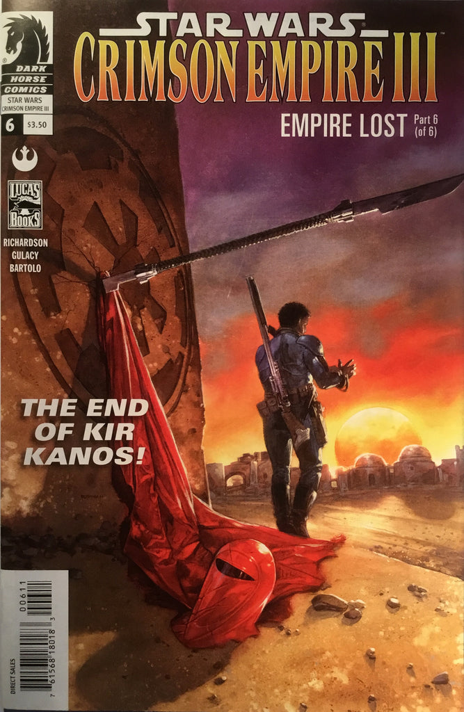 STAR WARS CRIMSON EMPIRE III : EMPIRE LOST # 6