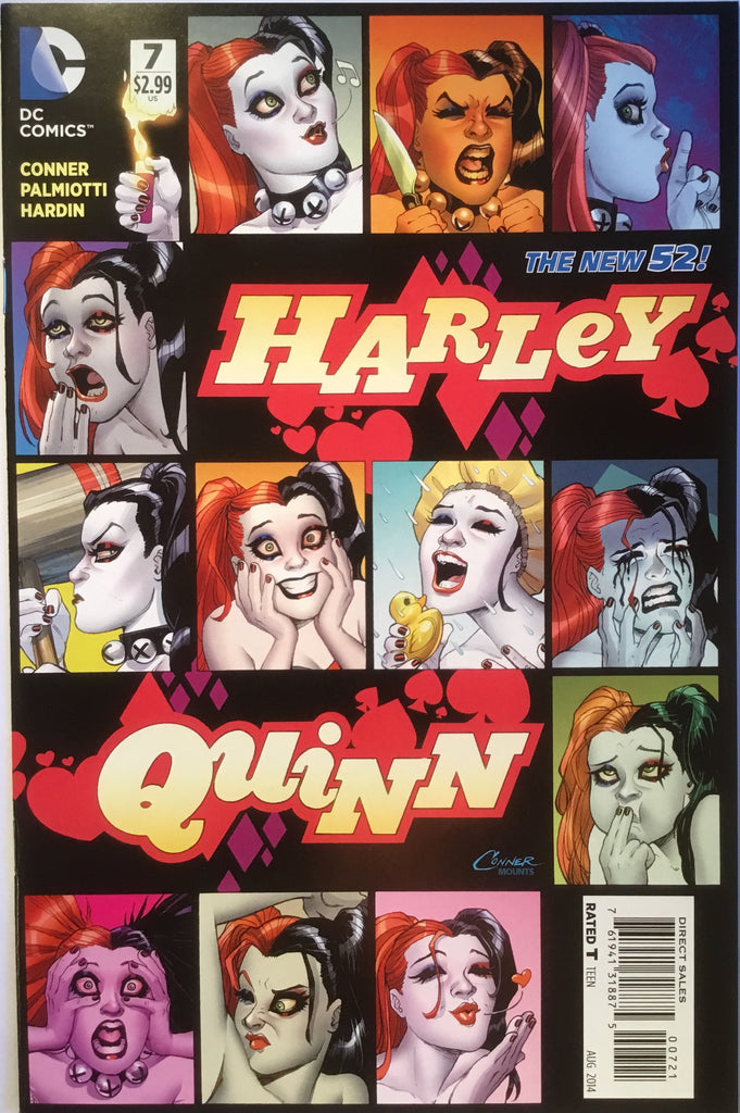 HARLEY QUINN # 7 (NEW 52) CONNER 1:25 VARIANT - Comics 'R' Us