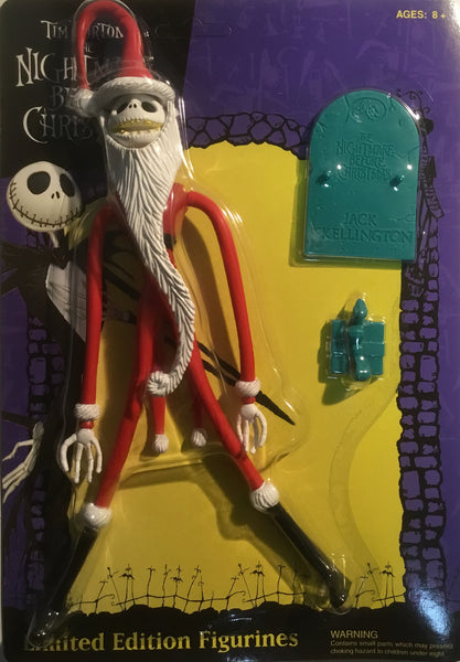THE NIGHTMARE BEFORE CHRISTMAS SANTA JACK SKELLINGTON FIGURE