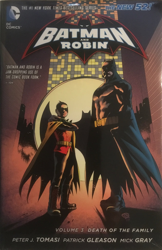BATMAN AND ROBIN (NEW 52) VOL 3 DEATH OF THE FAMILY HARDCOVER GRAPHIC NOVEL