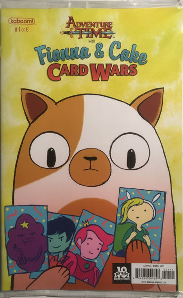 ADVENTURE TIME WITH FIONNA & CAKE CARD WARS #1 - Comics 'R' Us