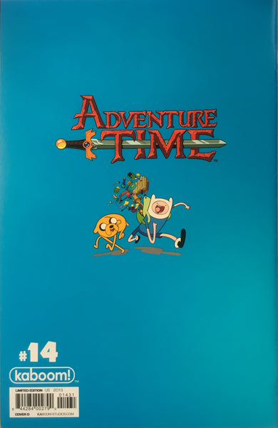 ADVENTURE TIME # 14 (1:20 VARIANT COVER) - Comics 'R' Us