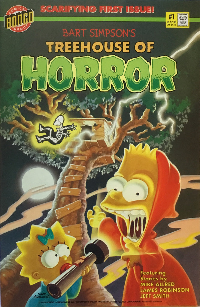 SIMPSONS TREEHOUSE OF HORROR # 1