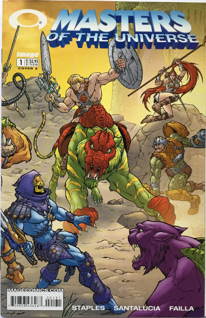 "MASTERS OF THE UNIVERSE # 1 COVER ""A"""