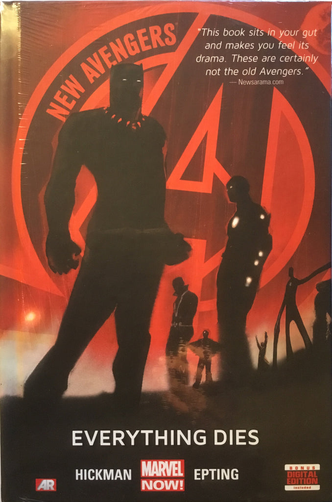 NEW AVENGERS (2013) VOL 1 EVERYTHING DIES HARDCOVER GRAPHIC NOVEL