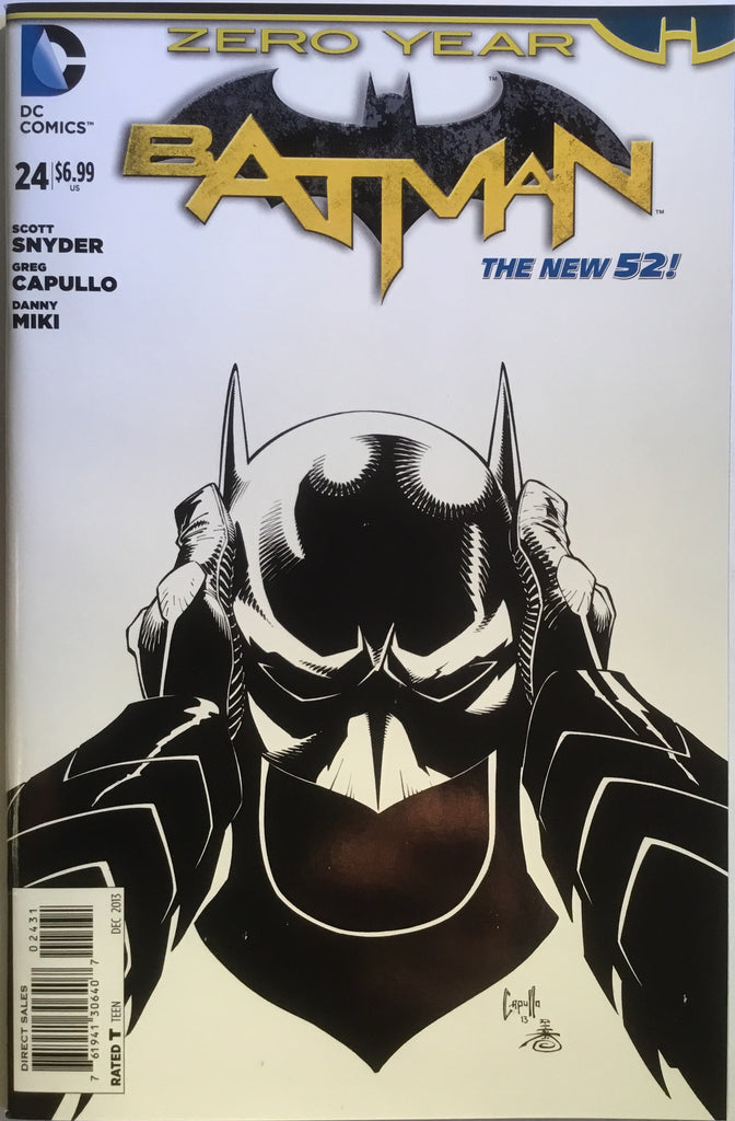 BATMAN #24 (THE NEW 52) CAPULLO 1:100 VARIANT - Comics 'R' Us