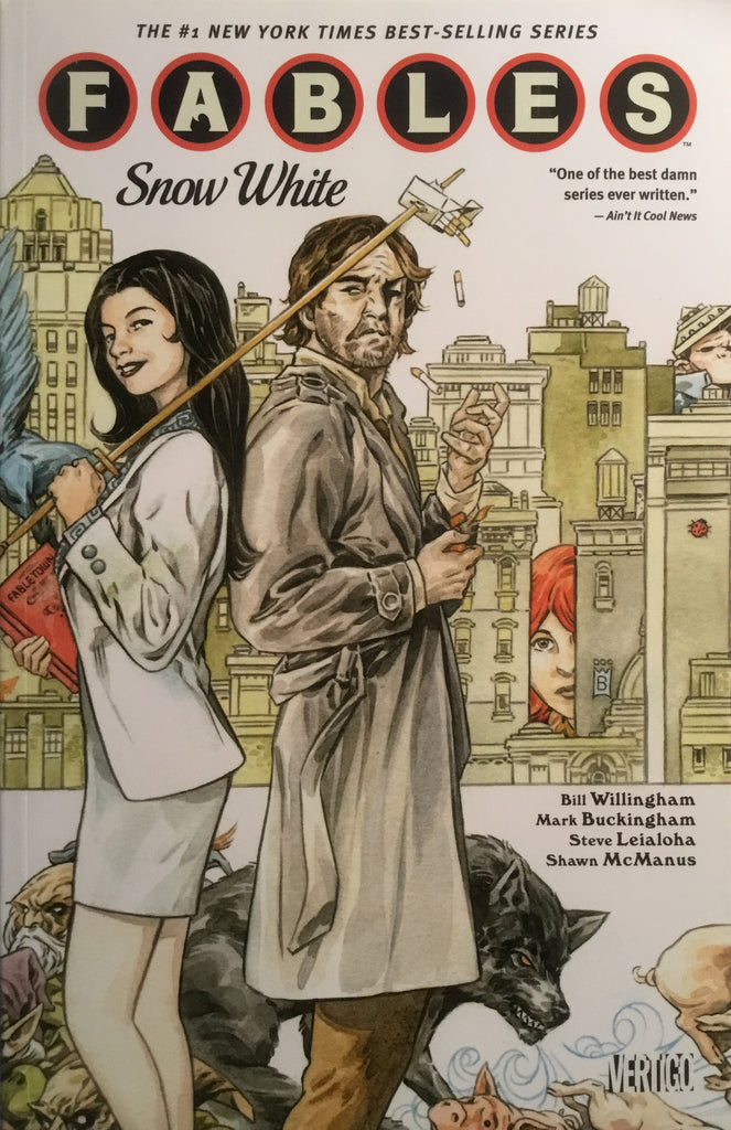 FABLES VOL 19 SNOW WHITE GRAPHIC NOVEL