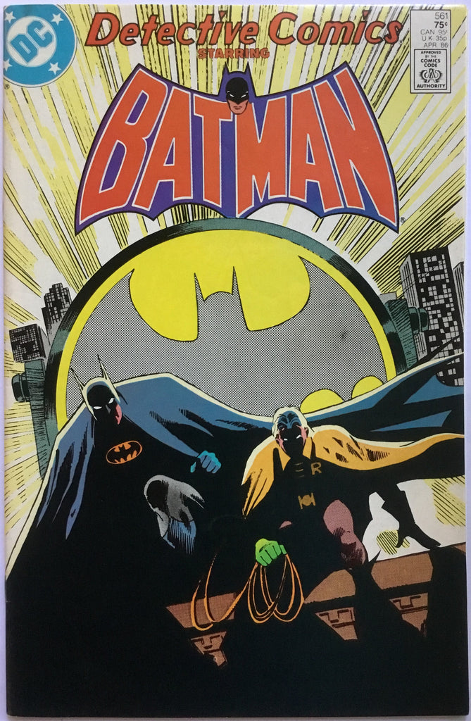 DETECTIVE COMICS starring BATMAN # 561 - Comics 'R' Us