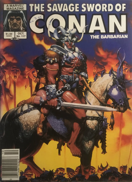 THE SAVAGE SWORD OF CONAN #117
