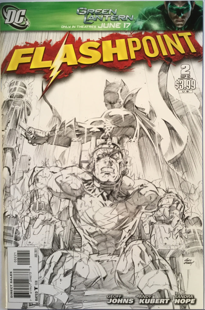 FLASHPOINT # 2 SKETCH COVER (1:25 VARIANT) - Comics 'R' Us