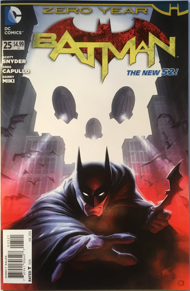 BATMAN #25 (THE NEW 52) GARNER 1:25 VARIANT - Comics 'R' Us