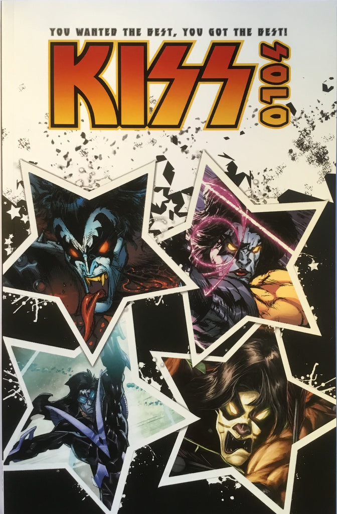 KISS SOLO GRAPHIC NOVEL