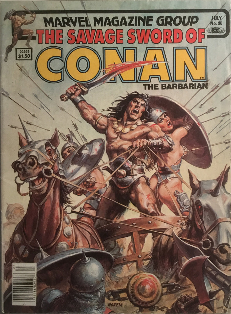 THE SAVAGE SWORD OF CONAN # 90