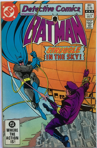 DETECTIVE COMICS starring BATMAN # 519 - Comics 'R' Us