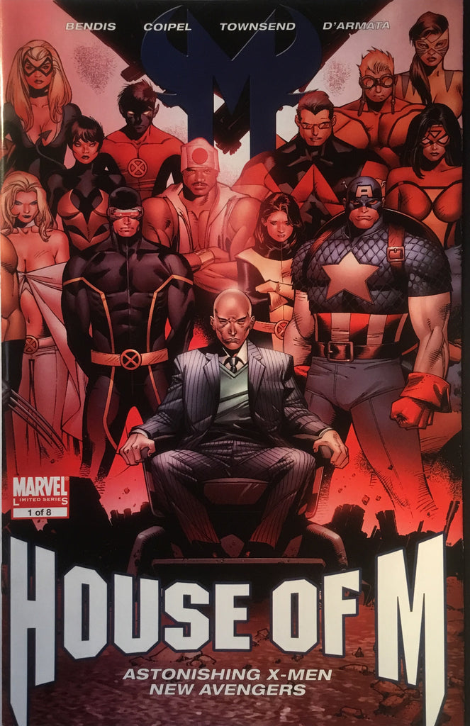 HOUSE OF M # 1 (2005) VARIANT COVER