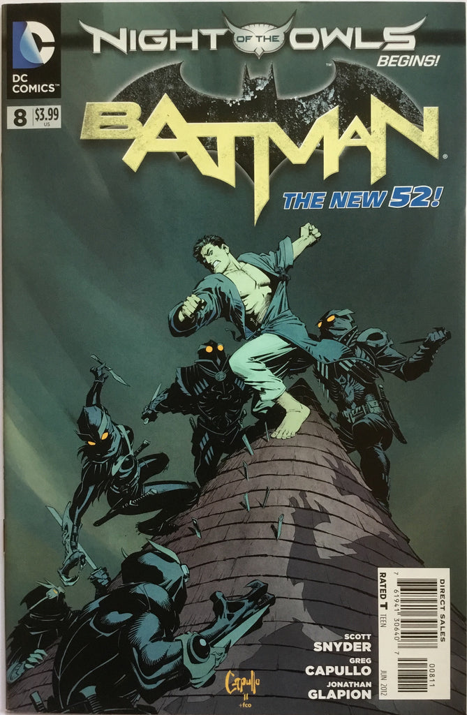 BATMAN # 8  (THE NEW 52) - Comics 'R' Us