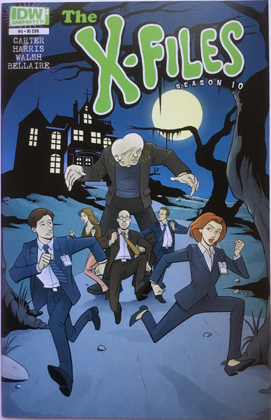X-FILES SEASON 10 # 4 ANIMATED COVER (1:10 VARIANT)