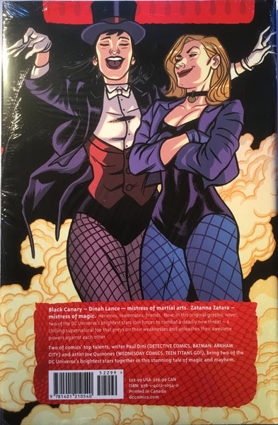 BLACK CANARY AND ZATANNA BLOODSPELL HARDCOVER GRAPHIC NOVEL - Comics 'R' Us