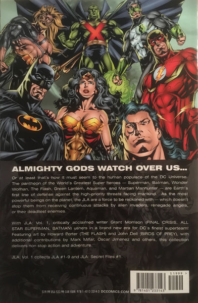 JLA VOL 1 DELUXE EDITION GRAPHIC NOVEL