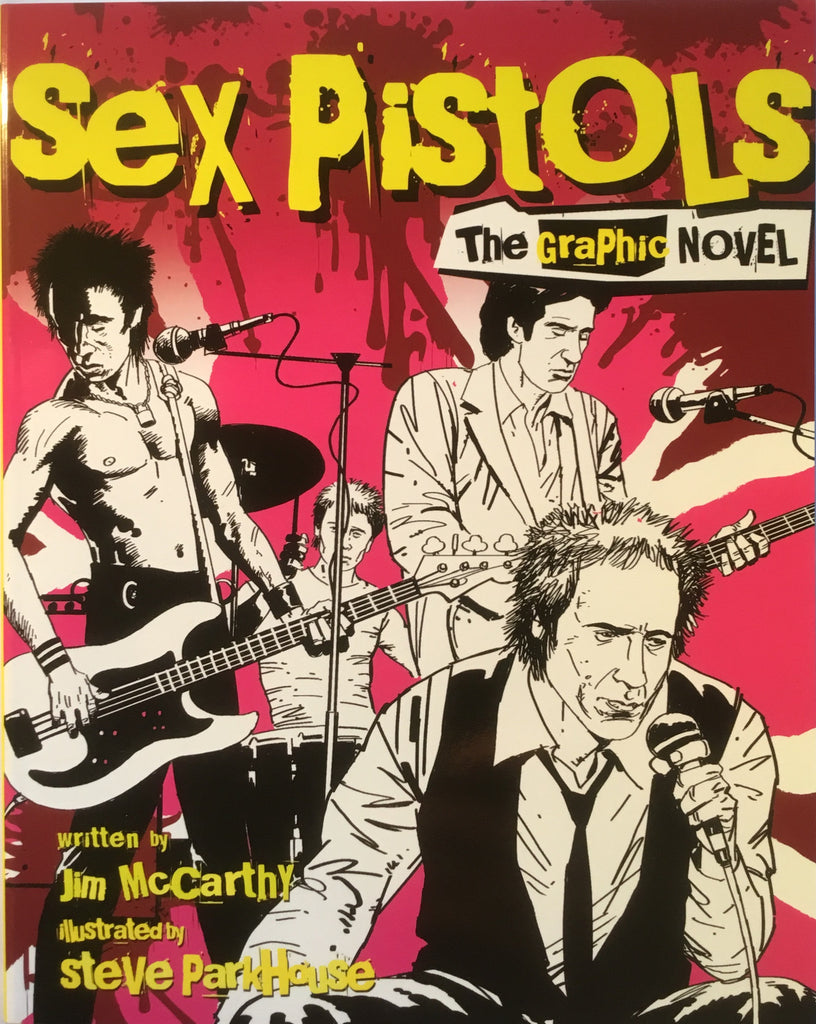 SEX PISTOLS GRAPHIC NOVEL