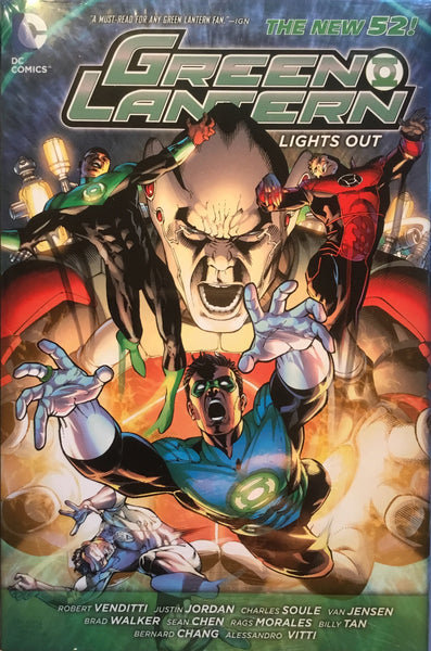 GREEN LANTERN (NEW 52) LIGHTS OUT HARDCOVER GRAPHIC NOVEL - Comics 'R' Us