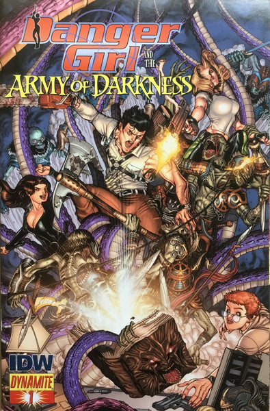 DANGER GIRL AND THE ARMY OF DARKNESS # 1 BRADSHAW COVER (1:15 VARIANT) - Comics 'R' Us