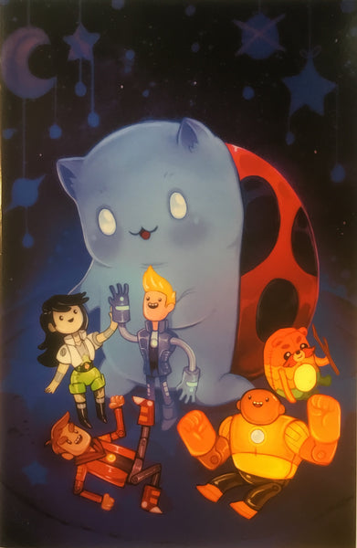 BRAVEST WARRIORS #12 (1:20 VARIANT COVER)