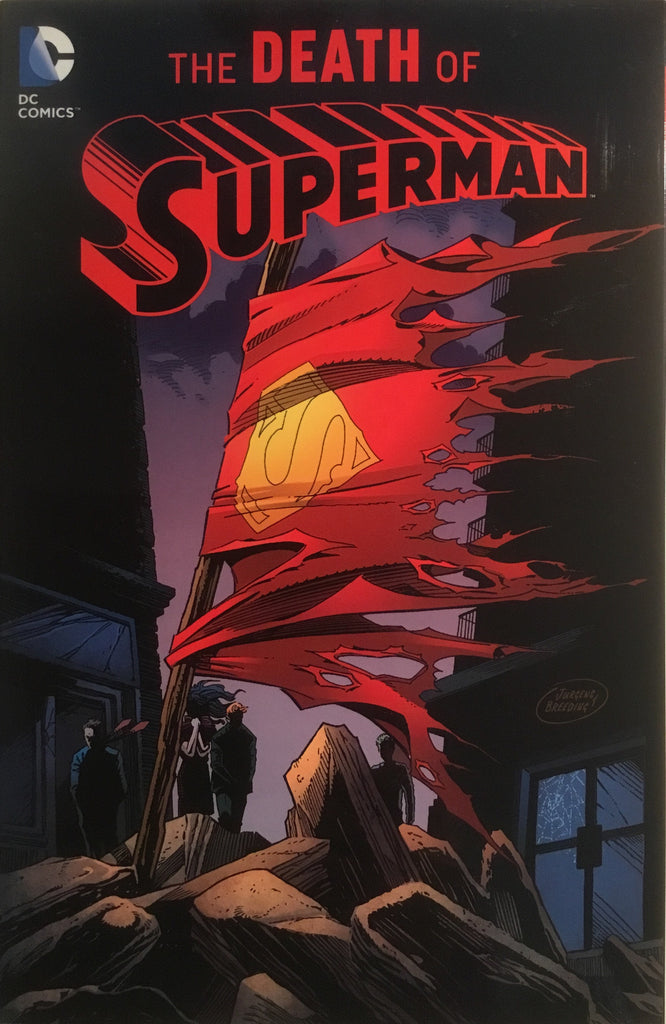 SUPERMAN THE DEATH OF SUPERMAN GRAPHIC NOVEL