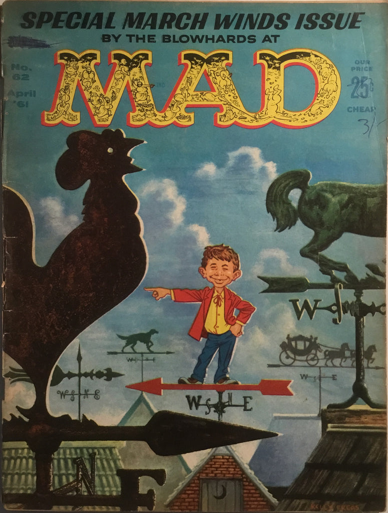 MAD MAGAZINE (USA) # 62