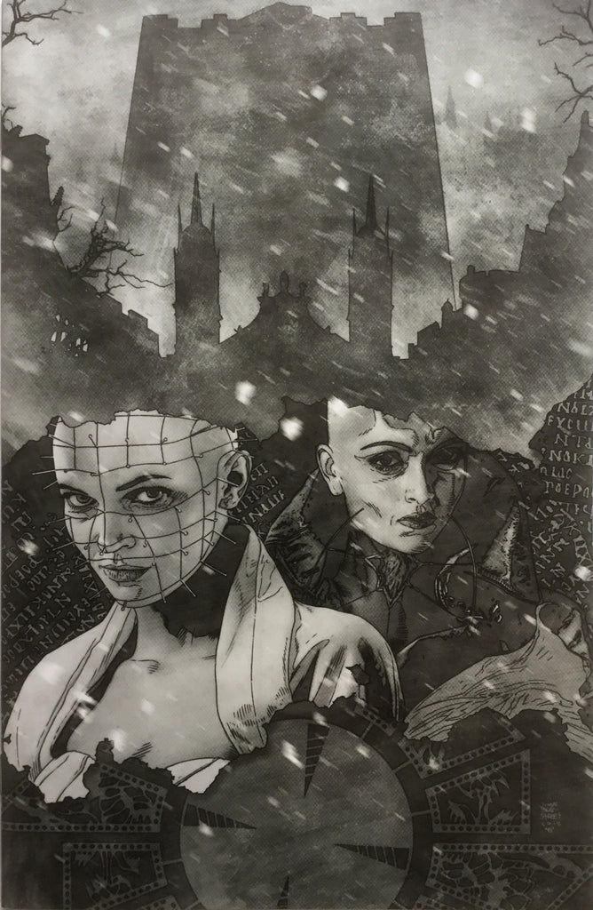 HELLRAISER #15 BRADSTREET VIRGIN BLACK AND WHITE COVER (1:10 VARIANT)