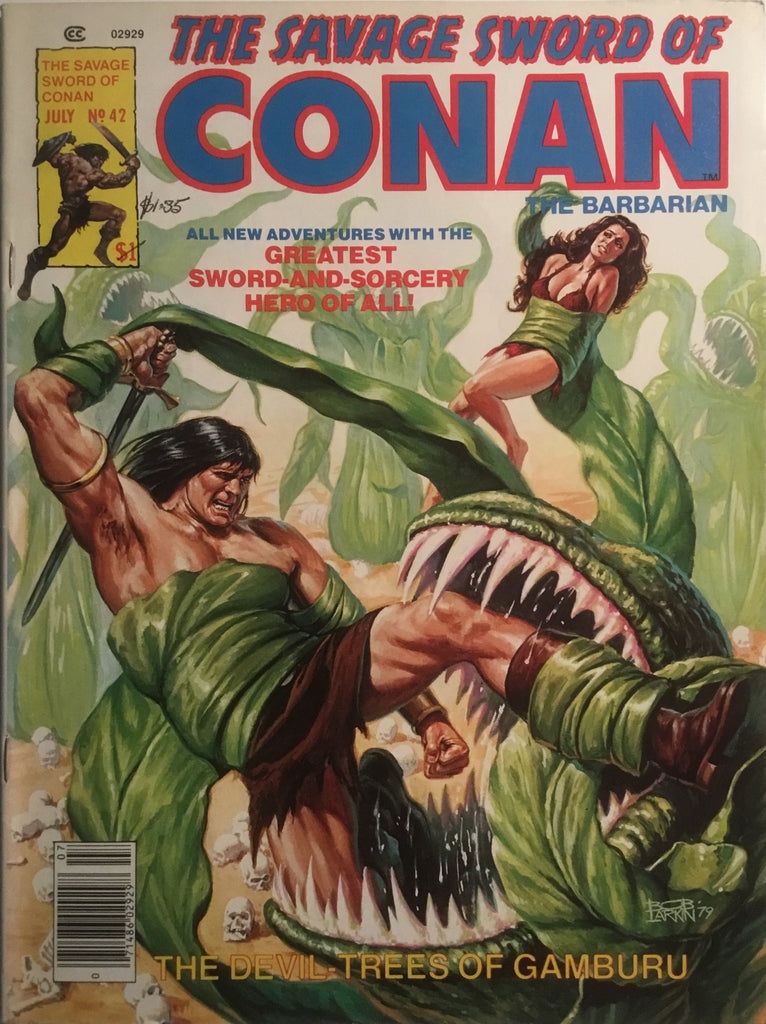 THE SAVAGE SWORD OF CONAN # 42