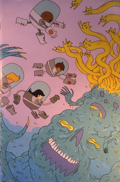 BRAVEST WARRIORS # 4 (1:20 VARIANT COVER)