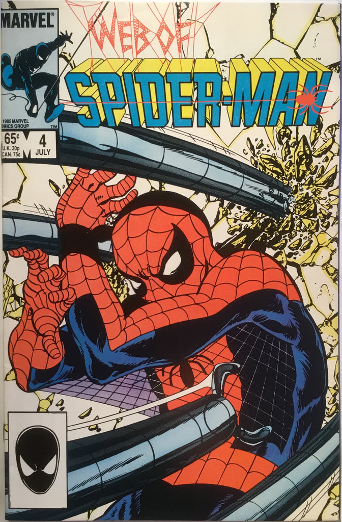 WEB OF SPIDER-MAN # 04