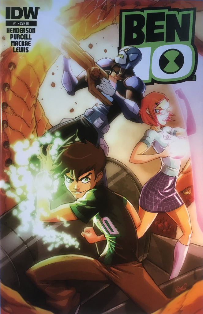 BEN 10 # 1 (1:10 VARIANT COVER) - Comics 'R' Us